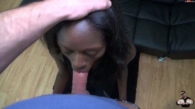 BANG-BOSS - Pornocasting mit 18j Fluechtlingsbitch -100 Prozent Real