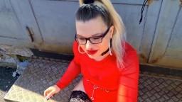 MariellaSun - Smoking Blowjob von der Stripperin