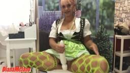 DianaMelano - Dirndl Fotzen Zeit mit XXL Toy.mp4